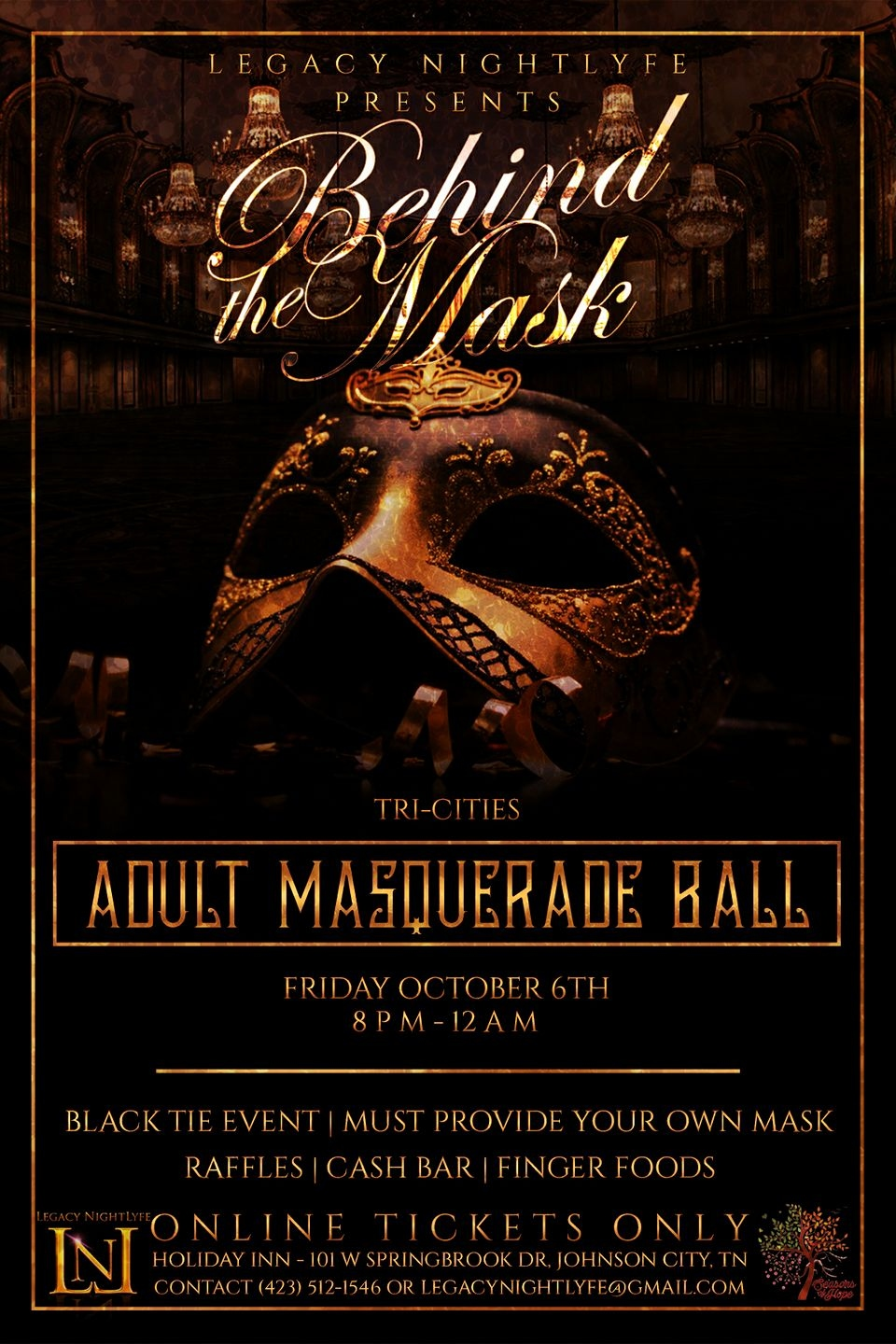 Adult Masquerade Ball At Holiday Inn