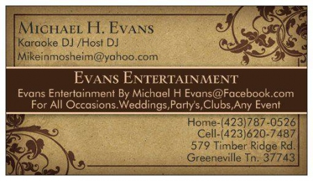 Evans Entertainment