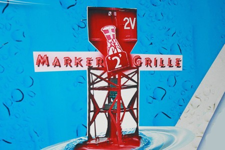 Marker 2 Grille at Lakeview Marina