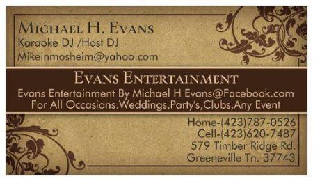 Evans Entertainment